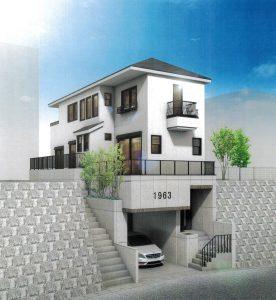 【新築戸建】飯山満3丁目 ビルトインカースペース有り!大型4LDK♪
