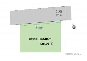 【建築条件付売地】船橋駅徒歩13分!設計士とつくる自由設計のおうち♪