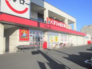 くすりの福太郎夏見台2丁目店:約520m