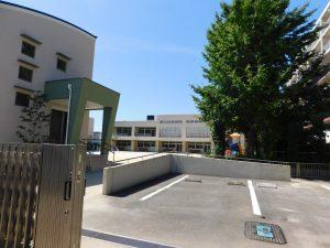 冨士見第二幼稚園:1100m