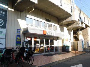 西友下総中山店…415m
